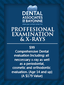 Professional Examination & X-Rays coupon
